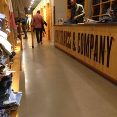 Photo taken at Levi's Store by Nastya S. on 10/25/2014