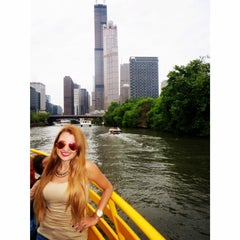 Photo taken at Chicago Water Taxi (Michigan) by Esther G. on 6/23/2014