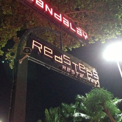 Photo taken at Redsteps Restaurant-Sandalay Resort by SuSHi R. on 12/9/2012
