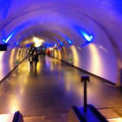 Photo taken at Metro Baixa-Chiado [AZ,VD] by Orlando Santos A. on 11/18/2012
