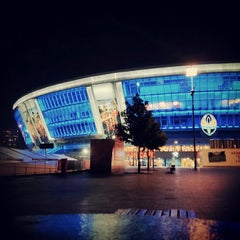Photo taken at Donbass Arena / Донбасс Арена by Алексей Я. on 5/16/2013