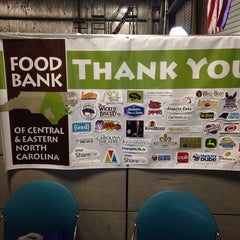 Photo taken at Food Bank of Central & Eastern NC by Johnnie B. on 9/27/2014