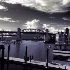 Photo taken at Aquabus Granville Island Dock by Steve T. on 6/13/2013