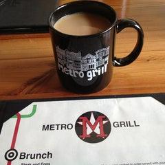 Photo taken at Metro Bar & Grill by Pamela L. on 4/7/2013