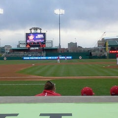 Photo taken at Hawks Field at Haymarket Park by Joel J. on 4/24/2013