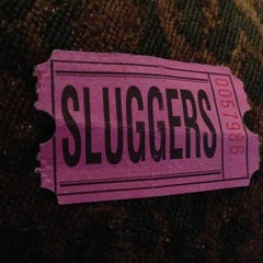 Photo taken at Sluggers World Class Sports Bar and Grill by Andrew F. on 3/24/2013