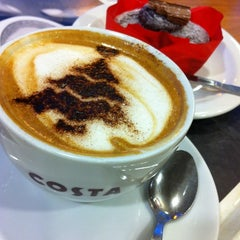 Photo taken at Costa Coffee by Brett J. on 11/22/2012