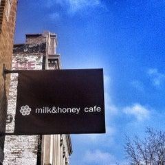 Photo taken at Milk & Honey Café by Yooper Steez on 12/2/2012