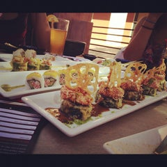 Photo taken at RA Sushi Bar Restaurant by Stephanie P. on 9/30/2012