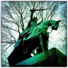 Photo taken at King Jagiello / Poland Monument by Matt F. on 3/16/2015