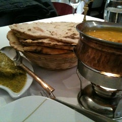 Photo taken at Indian Restaurant Shanti by Laura B. on 4/13/2013