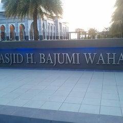 Photo taken at Masjid H Bajumi Wahab by Nabilla A. on 8/10/2013