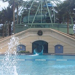 Photo taken at Parc Soleil: Pools and Waterslide by Shreya P. on 12/24/2012