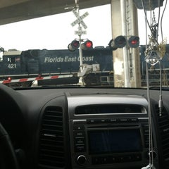 Photo taken at The Train Tracks by Michelle V. on 12/15/2012