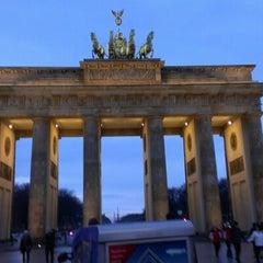 Photo taken at Pariser Platz by Robert M. on 12/16/2012