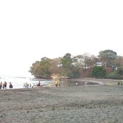 Photo taken at Pantai Batu Karas by Roshinta Anggun R. on 10/3/2015