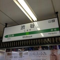 Photo taken at 渋谷駅 (Shibuya Sta.) by Fujihiro K. on 3/2/2013