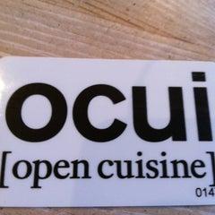 Photo taken at ocui [open cuisine] by Arek O. on 1/8/2013