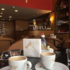 Photo taken at Kopenhagen Café by Dulce S. on 12/5/2014