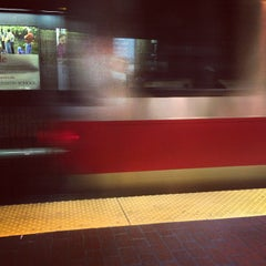 Photo taken at MBTA Davis Square Station by Pete K. on 12/17/2012