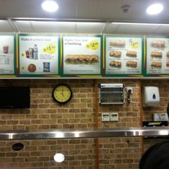 Photo taken at Subway by Abdulrhman A. on 11/17/2012