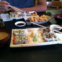 Photo taken at Mizu Sushi by Eddie L. on 10/19/2012