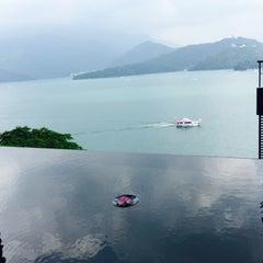 Photo taken at 涵碧樓 Lalu Hotel by David on 9/16/2015