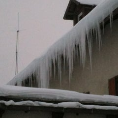 Photo taken at Rifugio Passo Sella by Dino R. on 12/14/2012