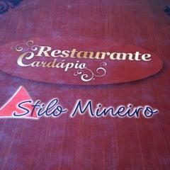 Photo taken at Restaurante Stilo Mineiro by Leandro d. on 4/13/2013