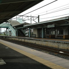 Photo taken at 八日市場駅 (Yōkaichiba Sta.) by littleneek on 5/30/2013