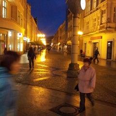 Photo taken at Ostrožná | Pěší zóna by Marek K. on 11/1/2012