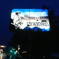 Photo taken at Welcome To Nevada! by Ryan W. on 2/10/2014
