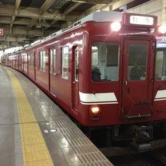 Photo taken at 大阪上本町駅 (Osaka-Uehommachi Sta.) by JUN on 1/26/2013