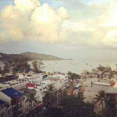 Photo taken at Patong Beach Hotel by Dominic O. on 11/23/2012