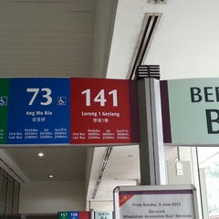 Photo taken at Toa Payoh Bus Interchange by 陈杰伦 (. on 6/10/2013