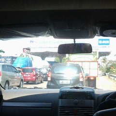 Photo taken at Gerbang Tol Cambaya by Christine R. on 10/31/2012