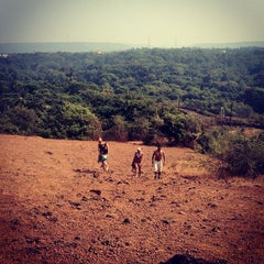 Photo taken at Chapora Fort by Katerina O. on 1/11/2013