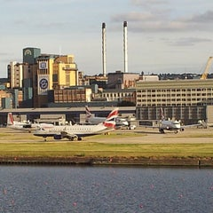 Photo taken at London City Airport (LCY) by Kerwin M. on 6/16/2013