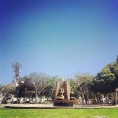 Photo taken at Plaza de Armas by Rodrigo V. on 3/8/2013