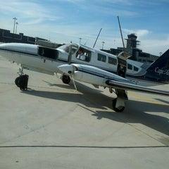 Photo taken at Lancaster Airport (LNS) by Brandon J. on 10/20/2012