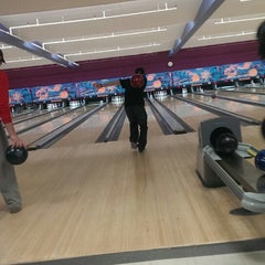 Photo taken at Bowl-A-Roll Lanes by Andrew B. on 2/18/2014