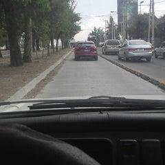 Photo taken at Macrobús Estación Independencia Norte by Fabian N. on 6/7/2013