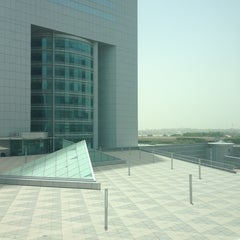 Photo taken at Emirates Towers أبراج الإمارات by Dina A. on 6/4/2013