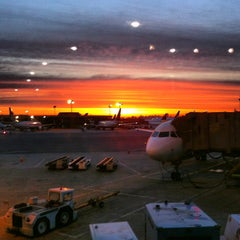Photo taken at Newark Liberty International Airport (EWR) by Sara R. on 5/28/2013