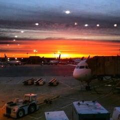 Photo taken at Newark Liberty International Airport (EWR) by Sara R. on 5/28/2013