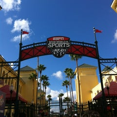 Photo taken at ESPN Wide World of Sports by Sara R. on 1/12/2013