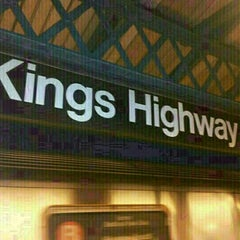 Photo taken at MTA Subway - Kings Highway (B/Q) by **Heath** on 1/16/2013