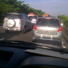 Photo taken at Gerbang Tol Parangloe by Muchsin Andi M. on 2/25/2013