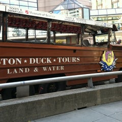 Photo taken at Boston Duck Tour (Prudential Center) by Adrienne S. on 10/22/2012