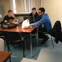 Photo taken at Centre de Documentation IAE Lille by Baudouin C. on 11/13/2012